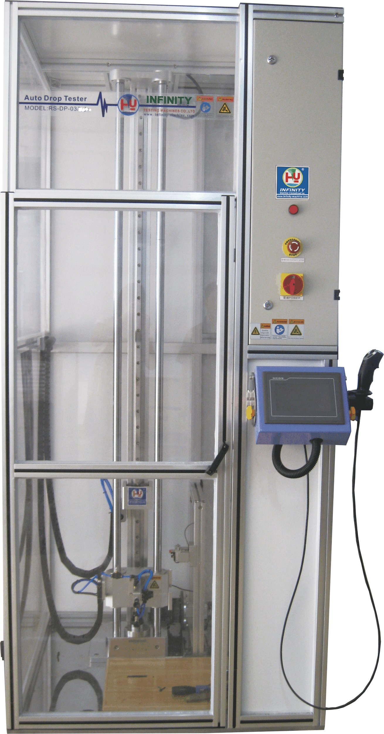 Drop Test Machine, Smartphone Automatic Drop Tester for Reliability Test,High Precision 300mm - 2000mm Height