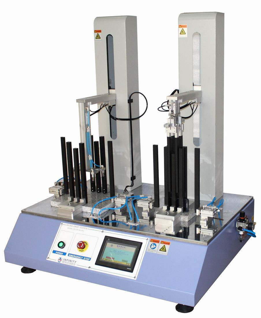 Micro Drop Testing Machine for Mobile Phone, Repeating Dropping Test 0 - 300 mm
