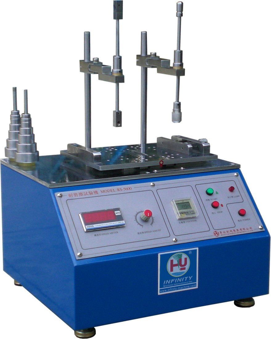 Phone Coating Abrasion Testing Machine , Blue Color Abrasion Testing Equipment