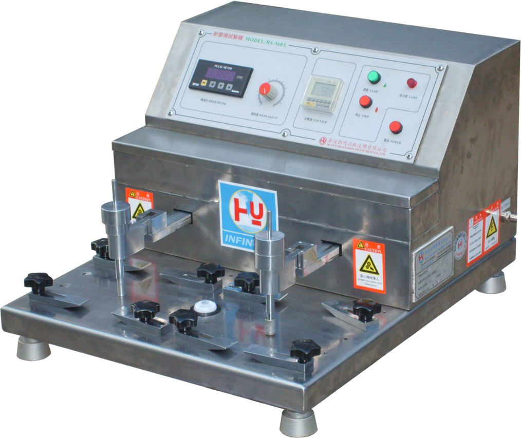 Stainless Steel Friction Tester In Abrasion Resistance Test Machine , High Speed