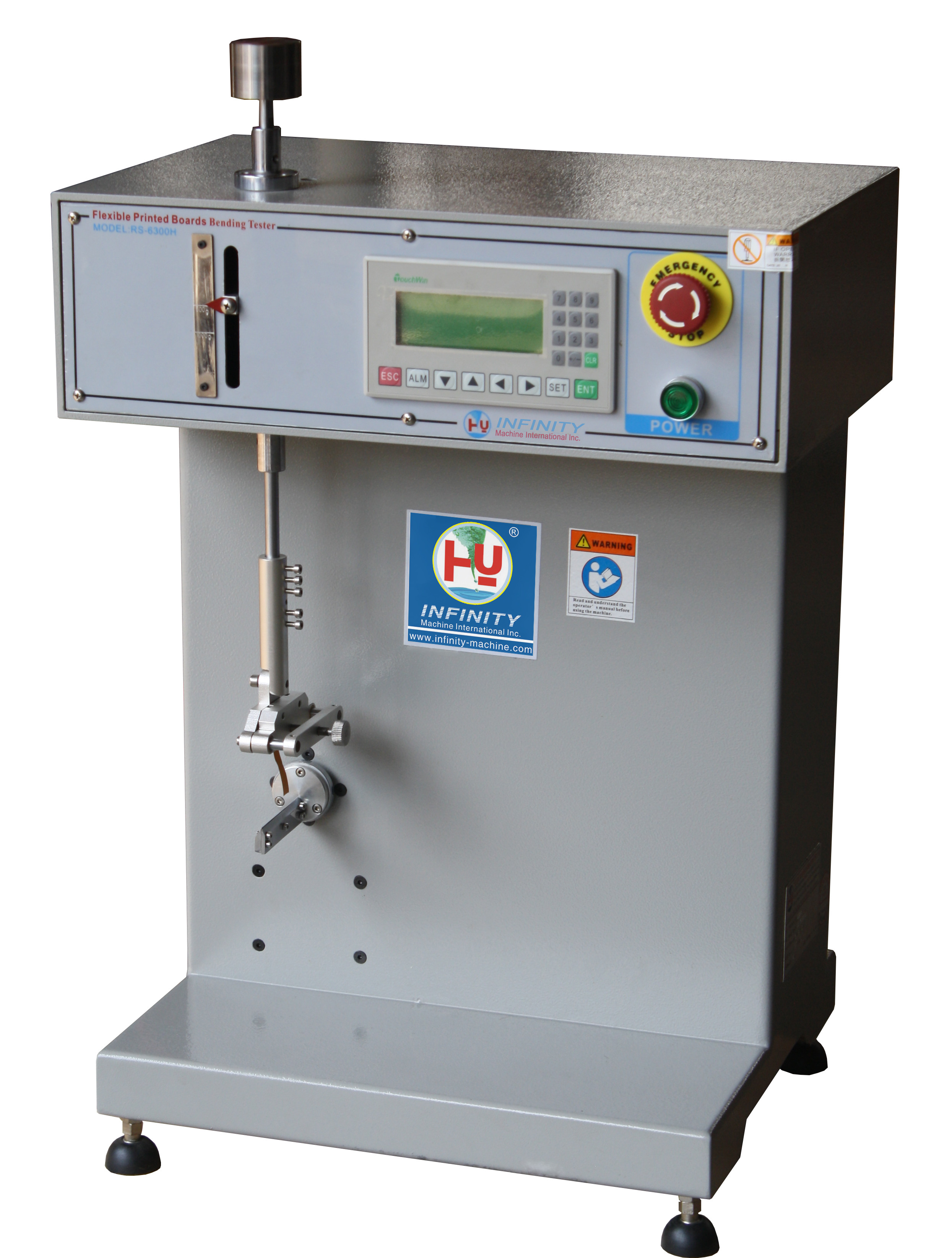 Touch Screen Flexural Strength Testing Machine Stepping PLC Controller