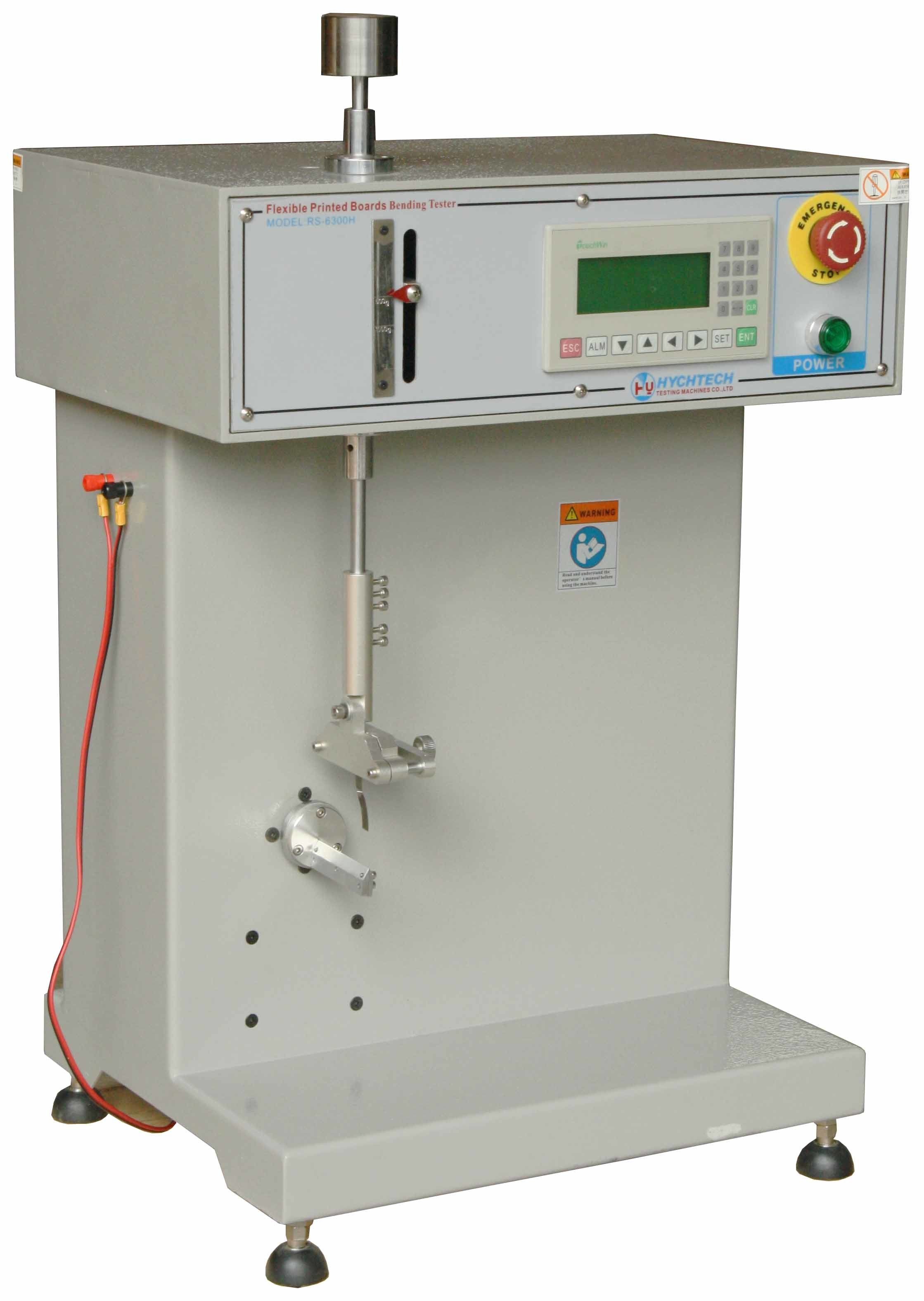 Touch Screen Flexural Strength Testing Machine Stepping PLC